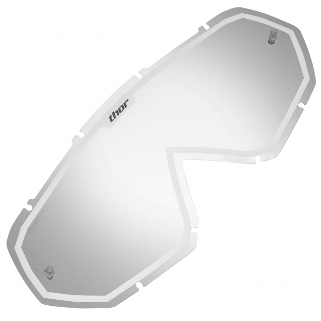 OFF-ROAD AKINIŲ LEŠIS THOR HERO/ENEMY MIRROR WHITE